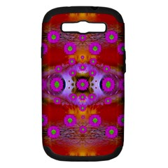 Shimmering Pond With Lotus Bloom Samsung Galaxy S Iii Hardshell Case (pc+silicone)