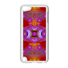 Shimmering Pond With Lotus Bloom Apple Ipod Touch 5 Case (white)