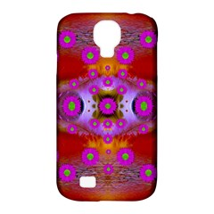 Shimmering Pond With Lotus Bloom Samsung Galaxy S4 Classic Hardshell Case (pc+silicone)