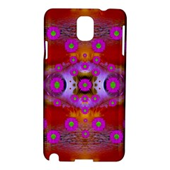 Shimmering Pond With Lotus Bloom Samsung Galaxy Note 3 N9005 Hardshell Case