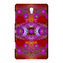 Shimmering Pond With Lotus Bloom Samsung Galaxy Tab S (8 4 ) Hardshell Case