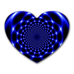 Indigo Lotus 2 Heart Mousepads