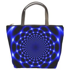 Indigo Lotus 2 Bucket Bags