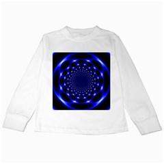 Indigo Lotus 2 Kids Long Sleeve T Shirts