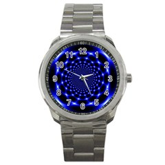 Indigo Lotus 2 Sport Metal Watch