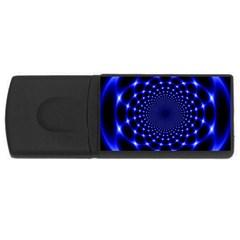 Indigo Lotus  Rectangular Usb Flash Drive