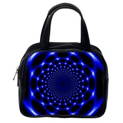 Indigo Lotus  Classic Handbags (one Side)