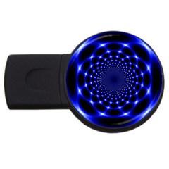 Indigo Lotus  Usb Flash Drive Round (2 Gb)