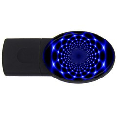 Indigo Lotus  Usb Flash Drive Oval (2 Gb)