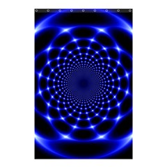 Indigo Lotus  Shower Curtain 48  X 72  (small)