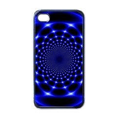 Indigo Lotus  Apple Iphone 4 Case (black)