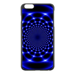 Indigo Lotus  Apple Iphone 6 Plus/6s Plus Black Enamel Case