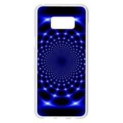 Indigo Lotus  Samsung Galaxy S8 Plus White Seamless Case
