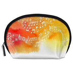 Sunset Notes Accessory Pouches (large)