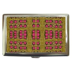 Bloom In Gold Shine And You Shall Be Strong Cigarette Money Cases