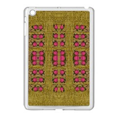 Bloom In Gold Shine And You Shall Be Strong Apple Ipad Mini Case (white)