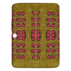 Bloom In Gold Shine And You Shall Be Strong Samsung Galaxy Tab 3 (10 1 ) P5200 Hardshell Case