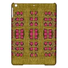 Bloom In Gold Shine And You Shall Be Strong Ipad Air Hardshell Cases