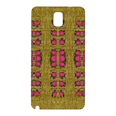 Bloom In Gold Shine And You Shall Be Strong Samsung Galaxy Note 3 N9005 Hardshell Back Case