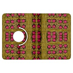 Bloom In Gold Shine And You Shall Be Strong Kindle Fire Hdx Flip 360 Case