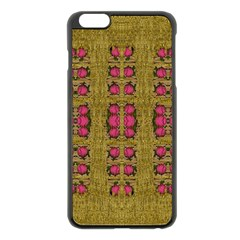 Bloom In Gold Shine And You Shall Be Strong Apple Iphone 6 Plus/6s Plus Black Enamel Case