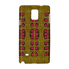 Bloom In Gold Shine And You Shall Be Strong Samsung Galaxy Note 4 Hardshell Case
