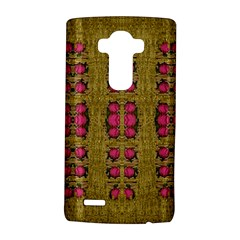 Bloom In Gold Shine And You Shall Be Strong Lg G4 Hardshell Case