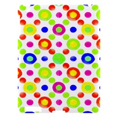 Multicolored Circles Motif Pattern Apple Ipad 3/4 Hardshell Case