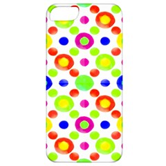 Multicolored Circles Motif Pattern Apple Iphone 5 Classic Hardshell Case