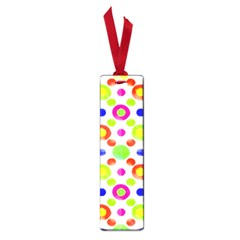 Multicolored Circles Motif Pattern Small Book Marks
