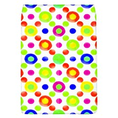 Multicolored Circles Motif Pattern Flap Covers (l)