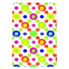 Multicolored Circles Motif Pattern Flap Covers (s)