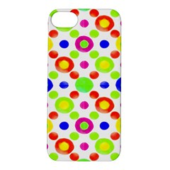 Multicolored Circles Motif Pattern Apple Iphone 5s/ Se Hardshell Case