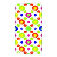 Multicolored Circles Motif Pattern Samsung Galaxy Note 3 N9005 Hardshell Back Case