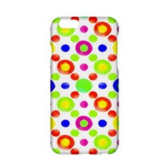 Multicolored Circles Motif Pattern Apple Iphone 6/6s Hardshell Case