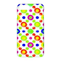 Multicolored Circles Motif Pattern Apple Iphone 8 Plus Hardshell Case