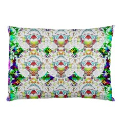 Nine Little Cartoon Dogs In The Green Grass Pillow Case (two Sides)
