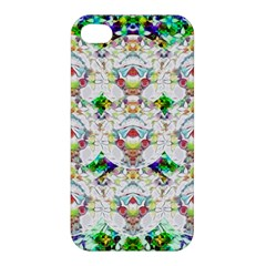 Nine Little Cartoon Dogs In The Green Grass Apple Iphone 4/4s Premium Hardshell Case