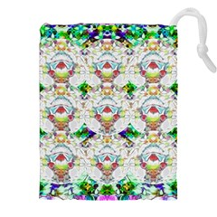 Nine Little Cartoon Dogs In The Green Grass Drawstring Pouches (xxl)