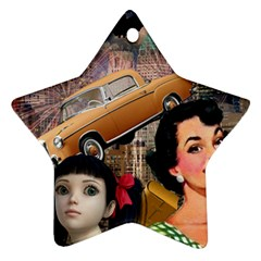 Out In The City Ornament (star)