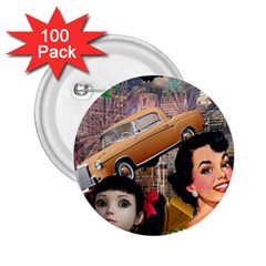 Out In The City 2 25  Buttons (100 Pack)