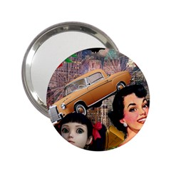 Out In The City 2 25  Handbag Mirrors