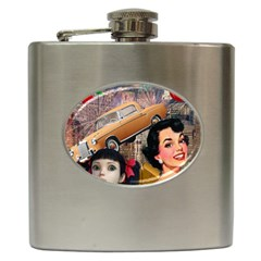 Out In The City Hip Flask (6 Oz)