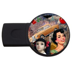 Out In The City Usb Flash Drive Round (2 Gb)