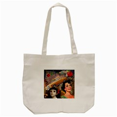 Out In The City Tote Bag (cream)