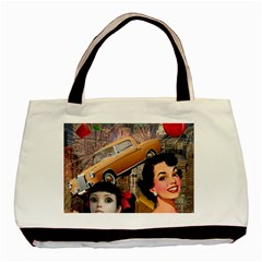 Out In The City Basic Tote Bag