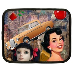Out In The City Netbook Case (xxl)