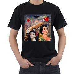 Out In The City Men s T Shirt (black)