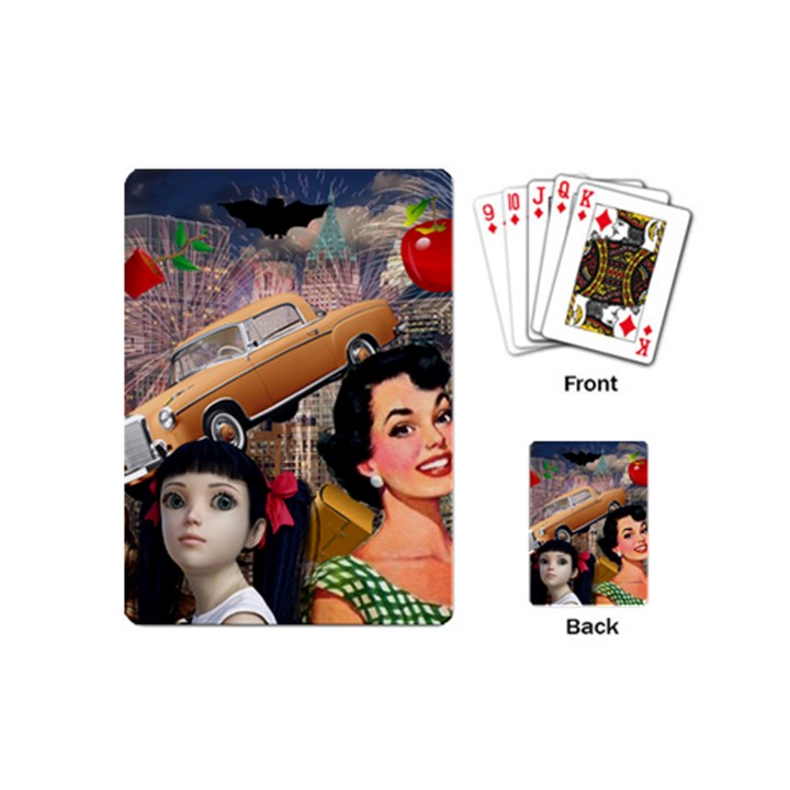 Out In The City Playing Cards (Mini)