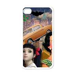 Out In The City Apple Iphone 4 Case (white)